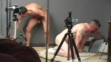 Camo faced Sarge gets drilled doggie style !!