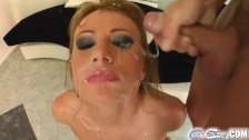 Cum For Cover Teen girls face is rained on
