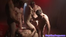 Tommy Defendi at a gay orgy climax