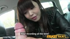 FakeTaxi Hot Asian babe banged in taxi