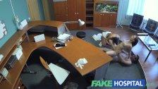 FakeHospital - Doctor enjoys two women