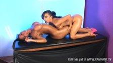 Dirty Jada & Tiffany Chalmers lesbian fun pt9