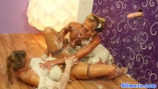 Dionne Darling and gf bukkaked at gloryhole