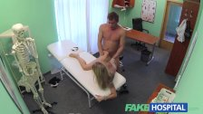 FakeHospital Doctor sinks his cock into blond