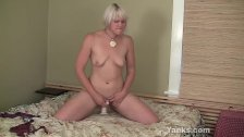 Blonde Fallon Pleasing Her Pussy With Toys