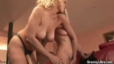 Two Mature Lesbian Honeys Play With Eachother