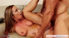 Horny gf Jada Stevens gets pussy fucked