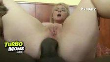 Russian milf slut Alina doggie style sex