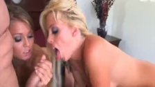 Pornstar Threesome Turns Nasty