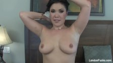 London Keyes Interracial BTS