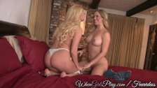 When Girls Play - Sexy Lesbians lick pussy