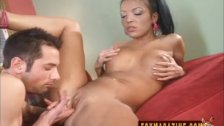 Maya Gates Swallowing A Big Hard Dick