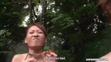 Lots of Asian sluts sucking dicks in the pool