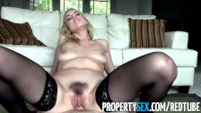 PropertySex - Trick hot realtor into fucking