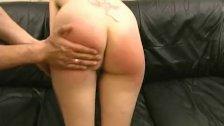 Teen slutty gets butt spanked