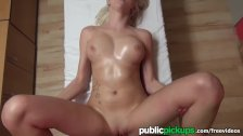 Mofos - Perfect blonde gets fucked for cash