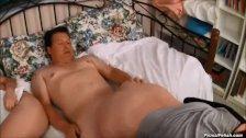 1-Jessica Robbin-BF's Dad Gets Naughty At Sle