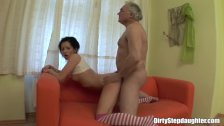 Naughty Stepdaughter Sucks And Fucks Her Tips