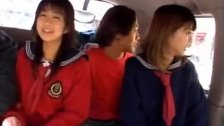 Airin Okui and chick in school uniform suck b