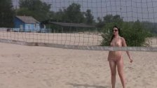 Nudist beach brings the best out of two hot t