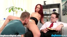 Curious Guy Joins with BiSex Couple