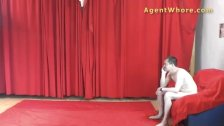 Agent whore does sexy dance for a beginner