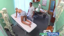 FakeHospital Fit chicks backache cured by sex