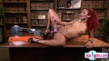 Hot secretary hard rough sex