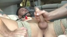Muscled Hunk Carjacked And Edged