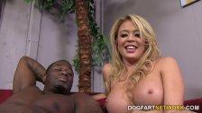 Mia Lelani Takes A Big Black Cock