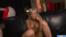 Blasting toy porn along superb Rina Aina