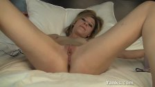 Gorgeous Ginger Has Orgasm