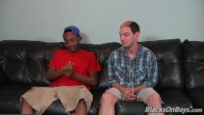Landon Love Gets Introduced To Black Cock
