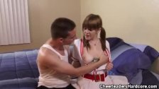 Cheerleader Mariah Mars Blowjobs