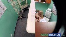 FakeHospital New nurse takes double cumshot
