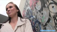 PublicAgent Hot babe fucks in alleyway