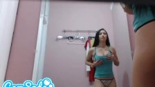 hot hidden camera dressing footage from camso