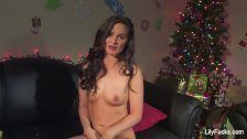 Lily Carter Waiting For Santa