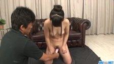 Koyuki Ono endures rough pounding in her tiny