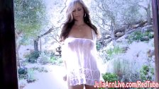 SuperStar Milf Julia Ann in Sheer!