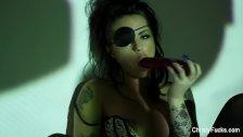 Captain Christy's sexy masturbation scene