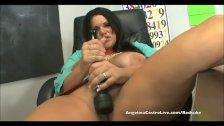 Angelina Castro Classroom masturbation!
