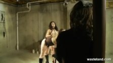 Master trains Mistress in how to spank