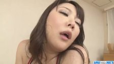 Busty Asian lady, Hinata Komine, craves for