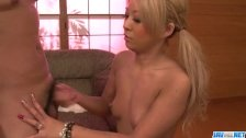 Karin tries tasty dick in superb scenes