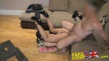 FakeAgentUK Anal acrobatics from Italian babe