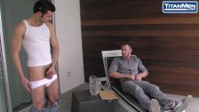 Colby White and Dario Beck Uncut Cock Sex