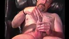 Mountain Man Stroking His Big Dick