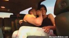 Blowjobs Inside The Car With Jayden