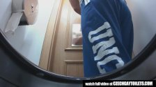 Hidden cameras in the men's toilets